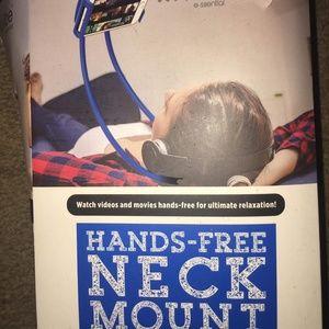 Accessories - Hands-Free neck mount!